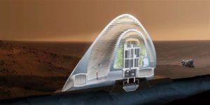 prva kuća na Marsu