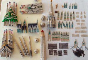 Sagrada Familia 3d štampana