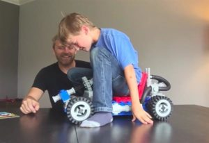 3d štampani Lego Go-Kart