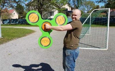 Najveći fidget spinner na svetu