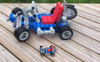 Pogledajte kako izgleda ogromni 3d štampani Lego Go-Kart