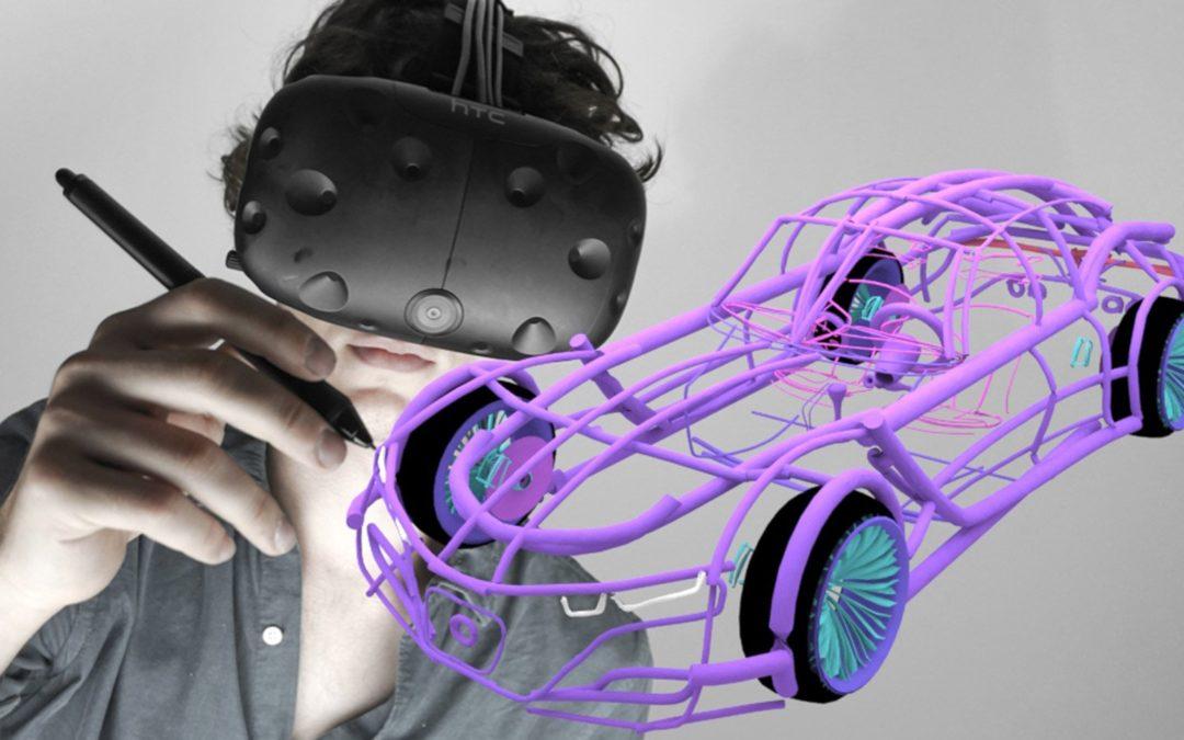 Gravity Sketch VR aplikacija